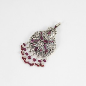 925 Sterling Silver Ruby Royale Pendant