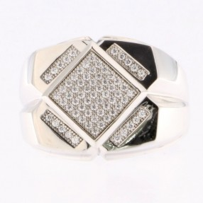 925 Sterling Silver Gent's Ring