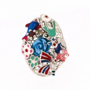 925 Sterling Silver Fairytale Ring
