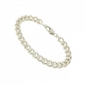 925 Sterling Silver Solid Curb Bracelet