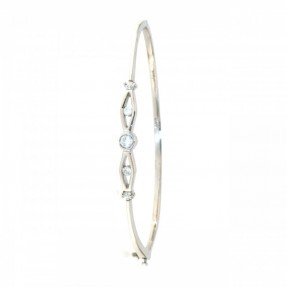 925 Sterling Silver Bangle (Openable)