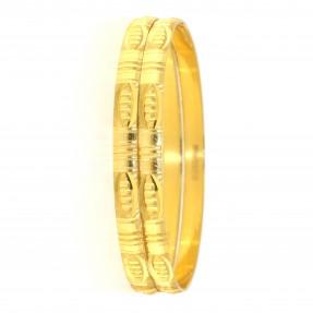 22ct Indian Gold Bangles (Pair)