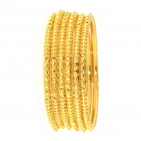 22ct Indian-Asian Gold 6 Bangles