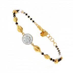 22ct Real Gold Asian/Indian/Pakistani Style Charm Bracelet