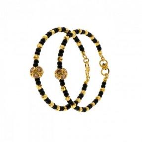 22ct Indian Gold Kid's Bangle Bracelet Pair