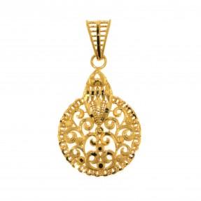 22ct Indian/Asian Gold Pendant