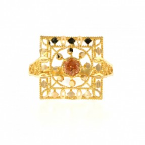 22ct Indian/Asian Gold Heart Ring