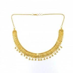 22ct Indian Gold Filigree Necklace Set