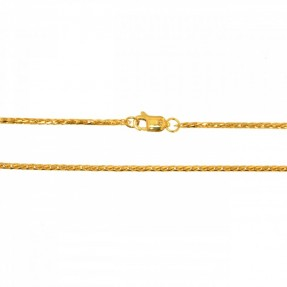 22ct Indian-Asian Gold Spiga Chain