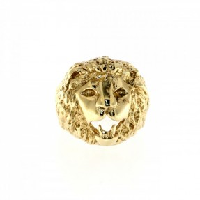 English Lion Head Ring (Pre-Owned)