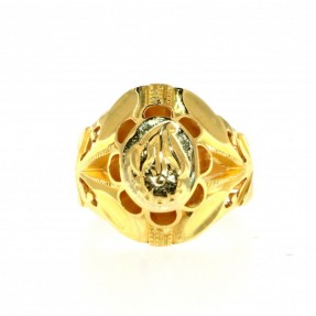 Indian-Asian Flower Ring (Pre-Owned)