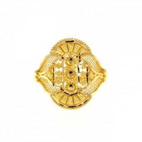 22ct Indian-Asian Gold Filigree Ring