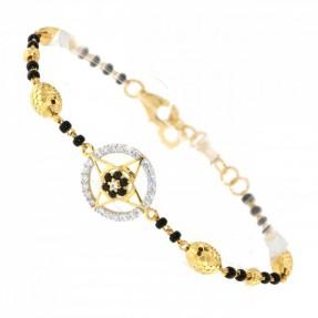 22ct Indian-Asian Gold Charm Bracelet