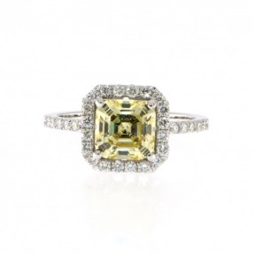14ct White Gold Diamond Ring 0.63ct