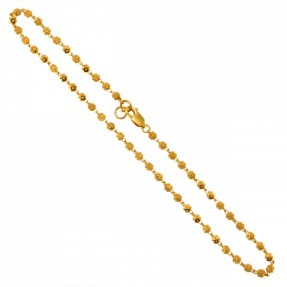 22ct Indian/Asian Gold Anklet (Single)