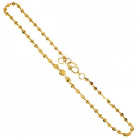 22ct Indian-Asian Gold Anklet