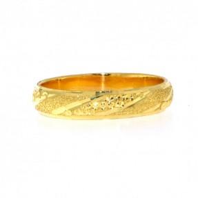 22ct Indian Gold Wedding Band