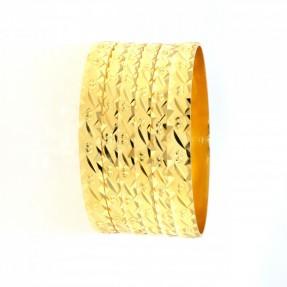 22ct Indian-Asian Gold Bangles Set