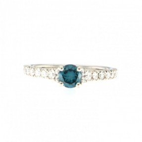 Platinum 1.05ct Diamond Ring