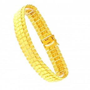 22ct Indian Gold Gents Bracelet