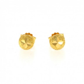 22ct Indian-Asian Gold Stud Earrings