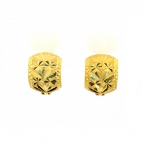 22ct Indian-Asian Gold Earrings