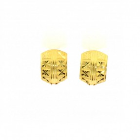 22ct Real Gold Asian/Indian/Pakistani Style Earrings