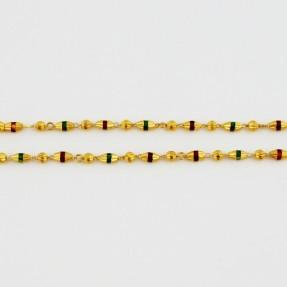 22ct Real Gold Asian/Indian/Pakistani Style Chain-Mala