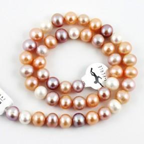 Multi Natural Pearl String