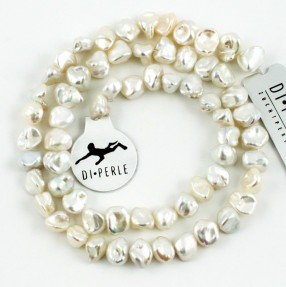 Flads White Pearl String