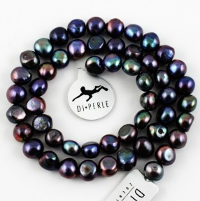 Flads Anthracite Pearl String