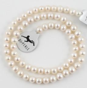 White Pearl String