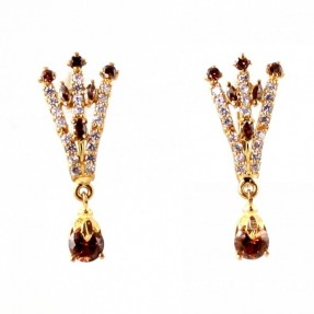 22ct Indian/Asian Gold Stud Earrings