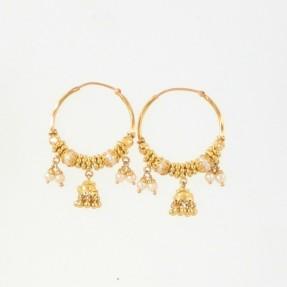 Indian Hoop Earrings (Pre-owned)