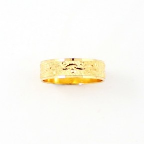 22ct Indian Gold Wedding Band PREMIUM COLLECTION