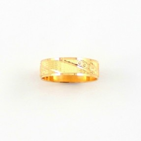 22ct Real Gold Asian/Indian/Pakistani Style Wedding Band PREMIUM COLLECTION