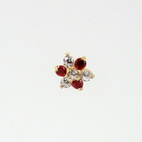 18ct Indian-Asian Gold Nose Pin