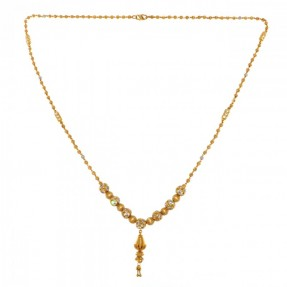 22ct Indian Gold Necklace-Mala