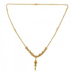 22ct Real Gold Asian/Indian/Pakistani Style Necklace-Mala