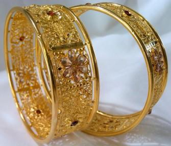 22ct Indian Gold Memories of Stars Karas
