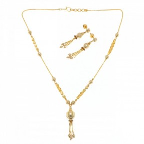 22ct Indian-Asian Gold Necklace Set