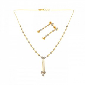 22ct Indian/Asian Gold Necklace Set