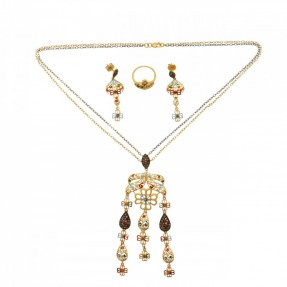 Indian-Asian Necklace Set (Pre-Owned)