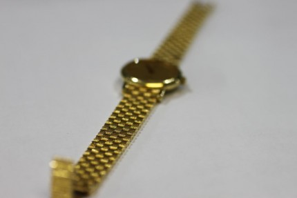 Omega 18ct Gold Ladies Watch
