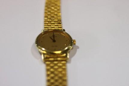 Omega 18ct Gold Ladies Wrist Watch