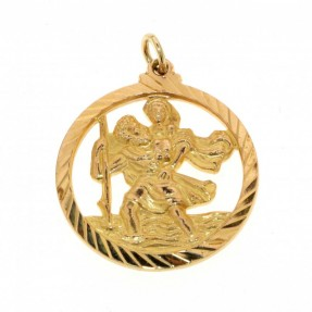 St Christopher Pendant (Pre-Owned)