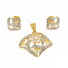 Indian-Asian Pendant Set (Pre-Owned)