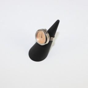 Eton Ladies Qtz Ring Watch - Peach