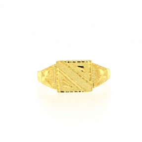 22ct Indian-Asian Gold Ring