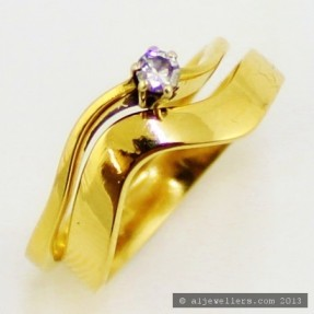 Diamond Ring Set (Pre-Owned)